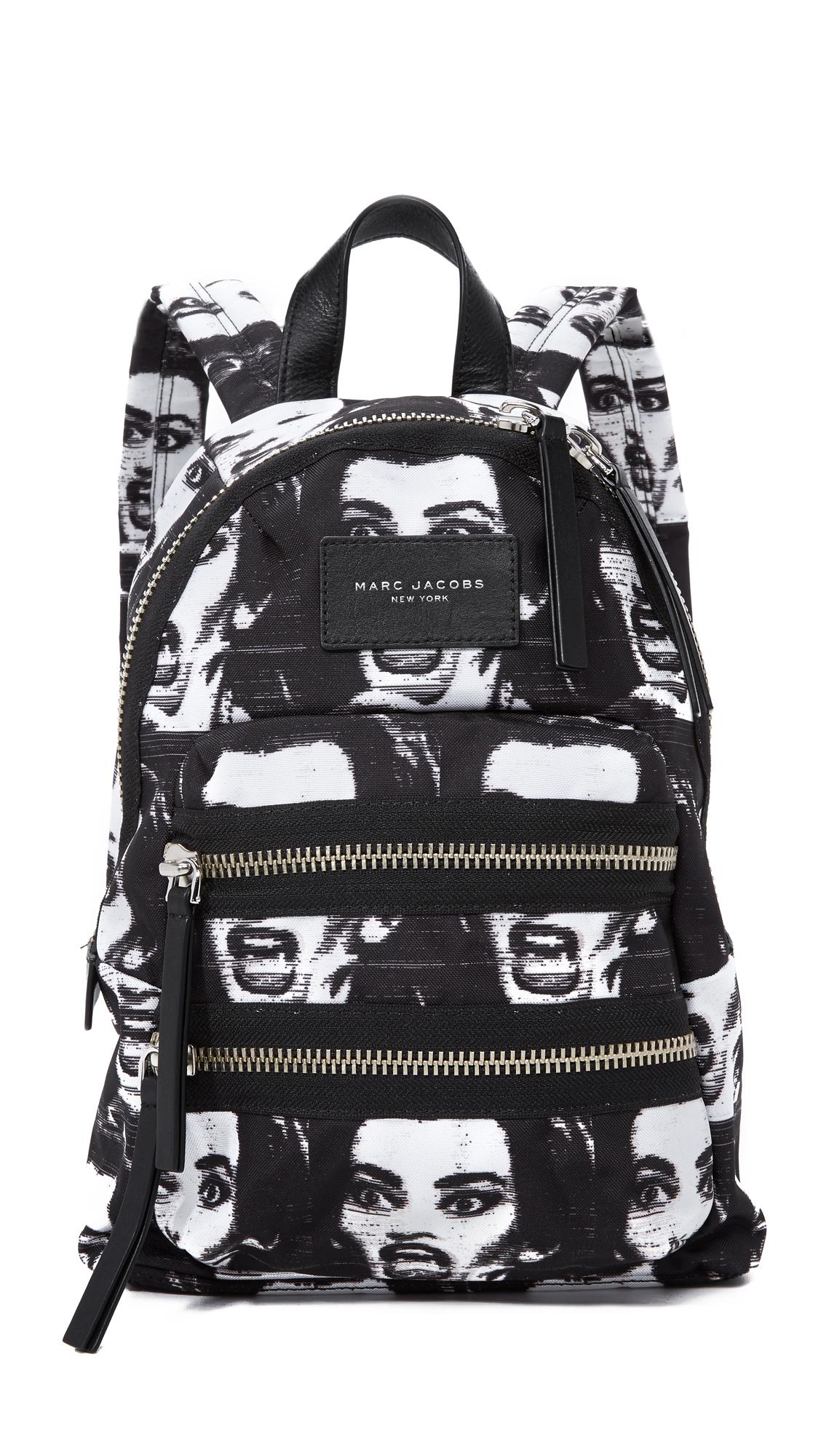 Marc Jacobs Maria Callas Mini Backpack - Black Multi