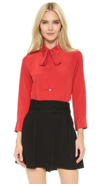Marc Jacobs Classic Blouse with Tie Neck