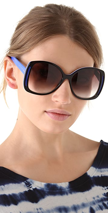 Marc Jacobs Sunglasses Butterfly Glam Sunglasses