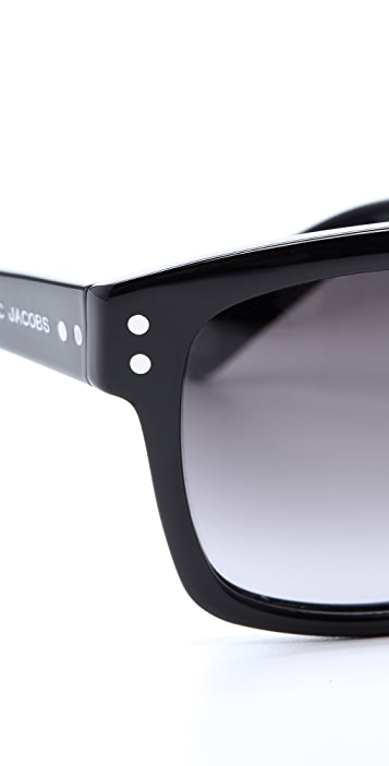 Marc Jacobs Sunglasses Oversized Square Sunglasses