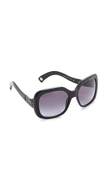 Marc Jacobs Sunglasses Black Crystal Statement Sunglasses