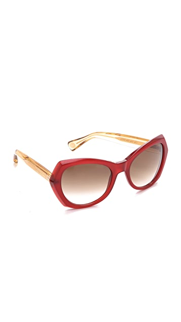 Marc Jacobs Sunglasses Oversized Geometric Sunglasses