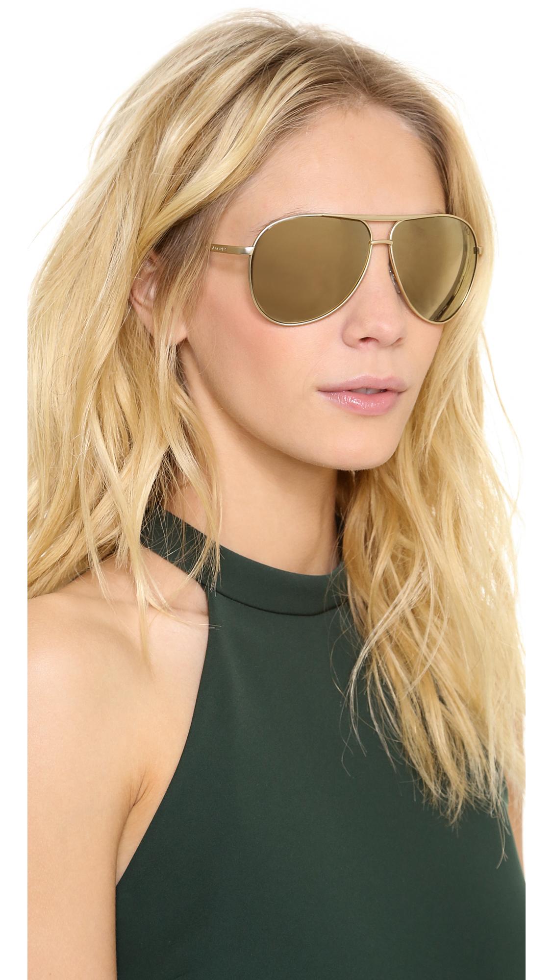 e044915da07cd Marc Jacobs Sunglasses Mirrored Aviator Sunglasses