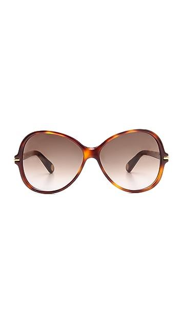 Marc Jacobs Sunglasses Round Oversized Sunglasses