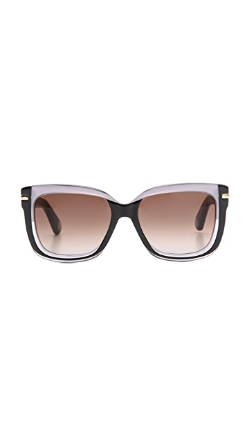Marc Jacobs Sunglasses Two Tone Sunglasses