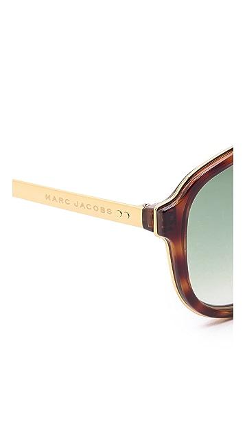 Marc Jacobs Sunglasses Aviator Sunglasses