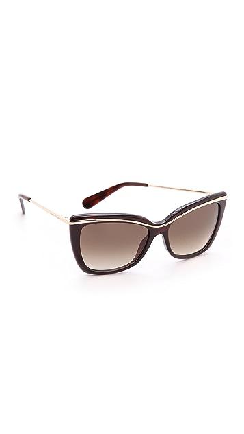 Marc Jacobs Sunglasses Glitter Stripe Sunglasses