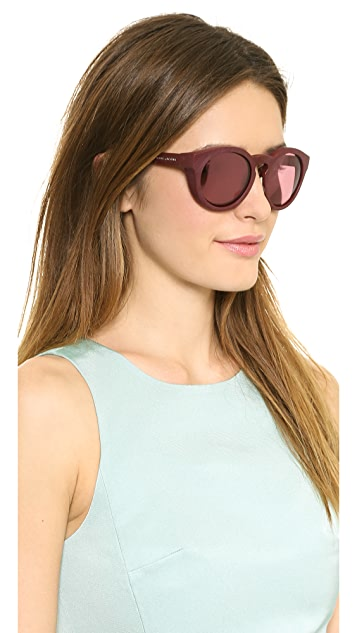 Marc Jacobs Sunglasses Bold Mirrored Sunglasses