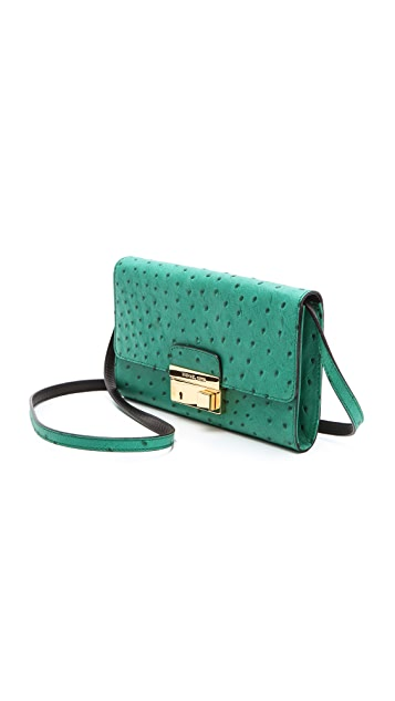 Michael Kors Collection Clutch with Lock