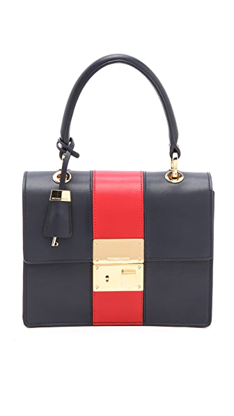 Michael Kors Collection Middleton Stripe Bag