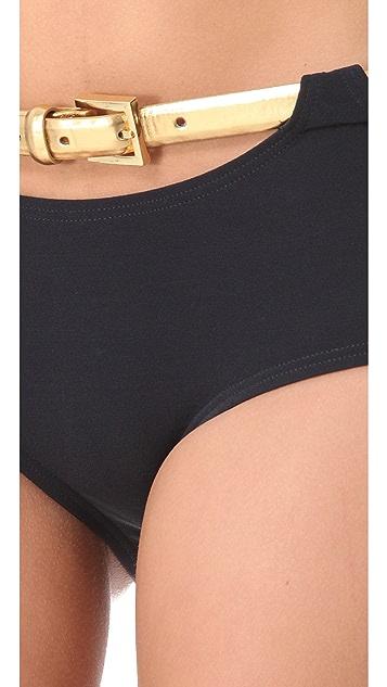 Michael Kors Collection Sun Deck Solids Bikini