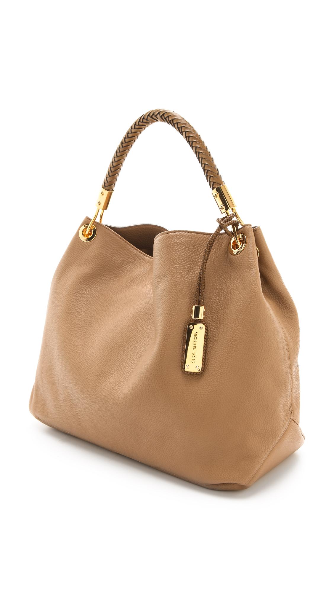 ffc9ba54c064 Michael Kors Collection Skorpios Large Shoulder Bag
