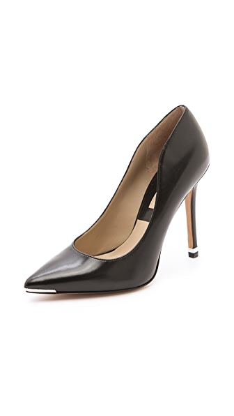 Michael Kors Collection Avra Cap Toe Pumps