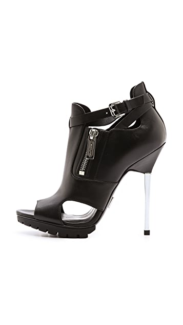 Michael Kors Collection Emma Runway Cutout Booties