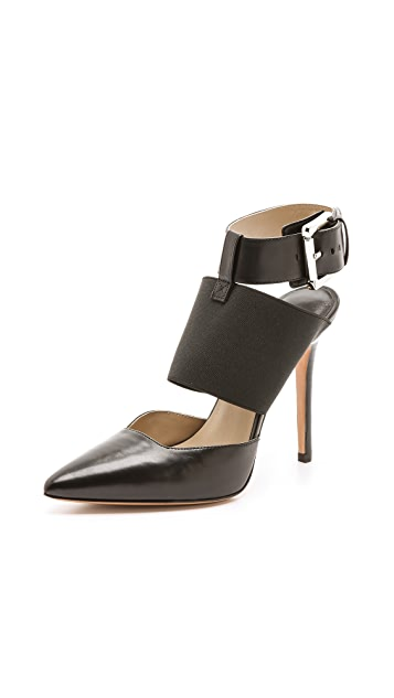 Michael Kors Collection Aviva Ankle Strap Pumps