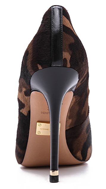 Michael Kors Collection Avra Camo Haircalf Pumps