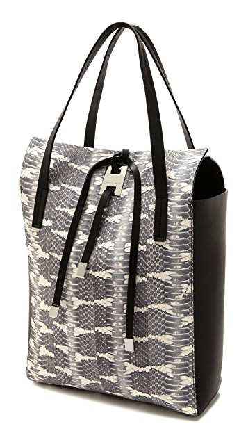 Michael Kors Collection Miranda Snake NS Tote