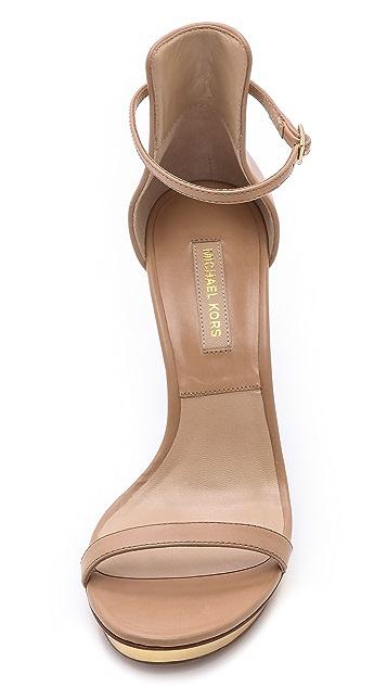 Michael Kors Collection Doris Heeled Sandals