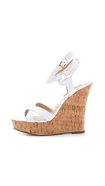 Michael Kors Collection Shana High Cork Wedges