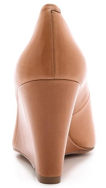 Michael Kors Collection Valari Peep Toe Wedges