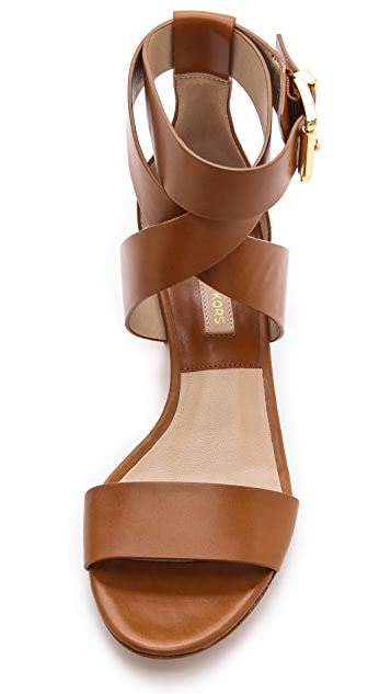 Michael Kors Collection Tulia Block Heel Sandals