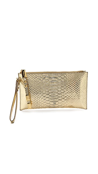 Michael Kors Collection Miranda Zip Clutch