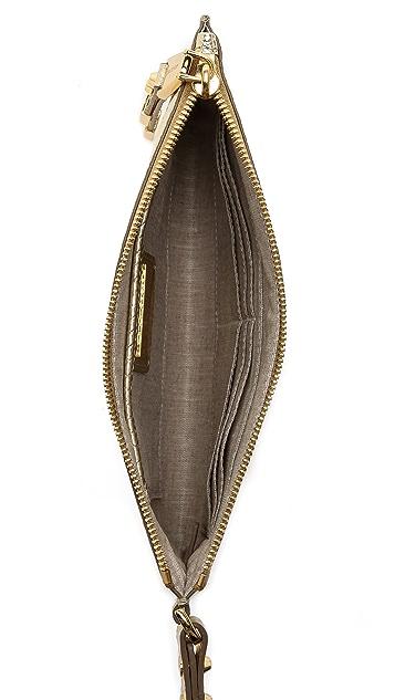 Michael Kors Collection Miranda Zip Clutch