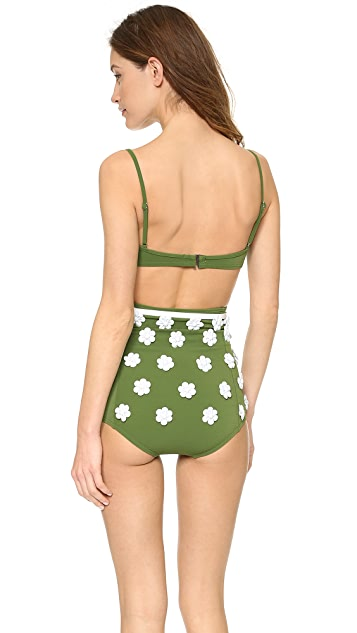Michael Kors Collection Garden Club Solids Bikini