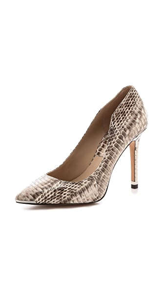 Michael Kors Collection Avra Snakeskin Pumps