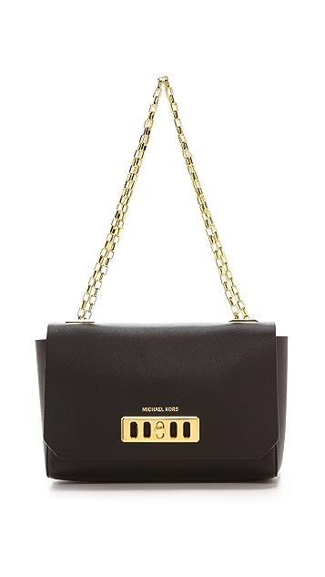 Michael Kors Collection Vivian Shoulder Flap Bag