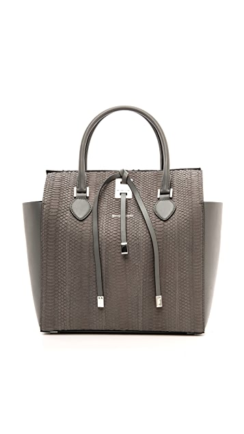 Michael Kors Collection Miranda Large SnakeskinTote