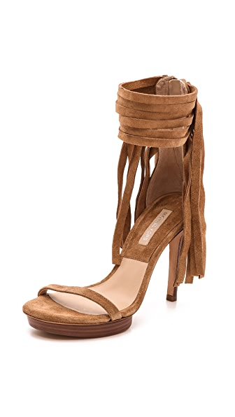 Michael Kors Collection Daphne Fringe Sandals