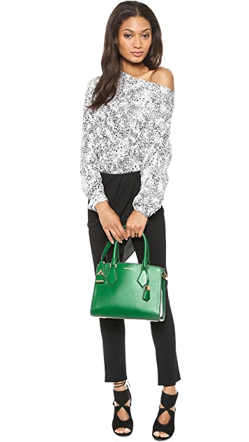 Michael Kors Collection Casey Medium Satchel