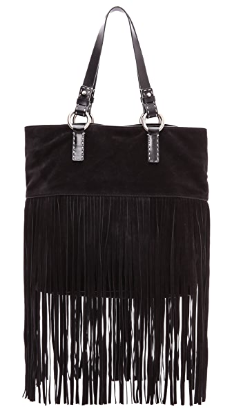 Michael Kors Collection Joni Large Fringe Tote