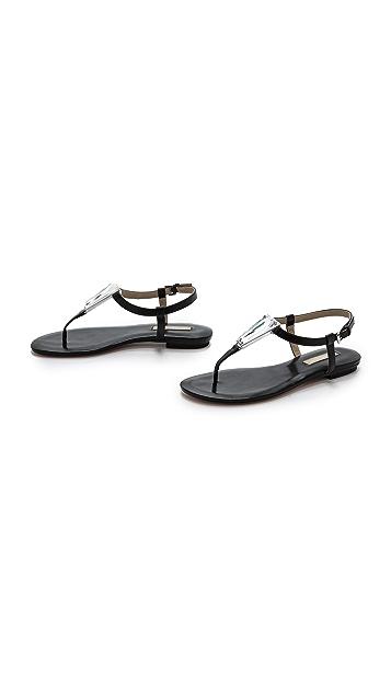 Michael Kors Collection Hanne T Strap Sandals