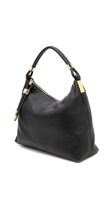 Michael Kors Collection Skorpios Top Zip Shoulder Bag