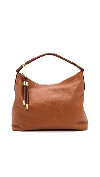 Michael Kors Collection Skorpios Top Zip Shoulder Bag
