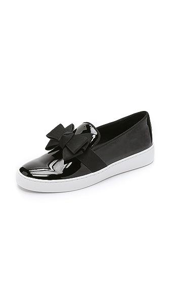 Kupi Michael Kors Collection online i prodaja Michael Kors Collection Val Bow Sneakers Black haljinu online