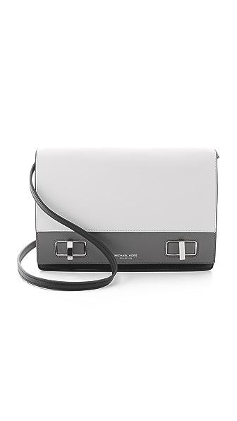Michael Kors Collection Bette Medium Shoulder Flap Bag