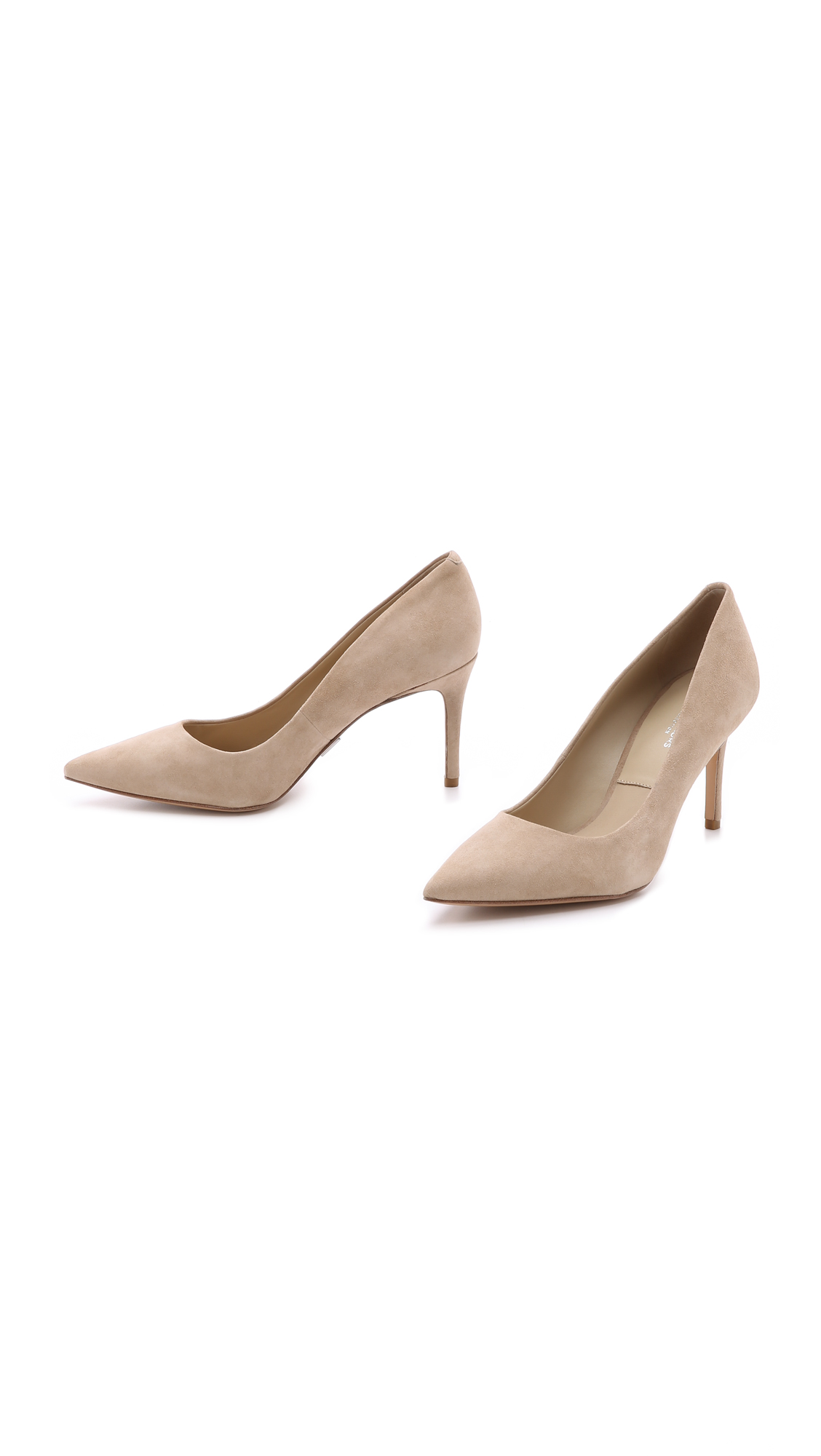 Michael Kors Collection Garner Suede Pumps Shopbop Clarette Wedges Coraline Beige