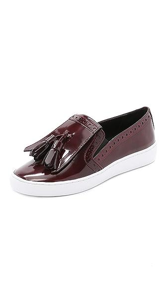 Kupi Michael Kors Collection online i prodaja Michael Kors Collection Vesey Fringe Slip On Sneakers Bordeaux haljinu online