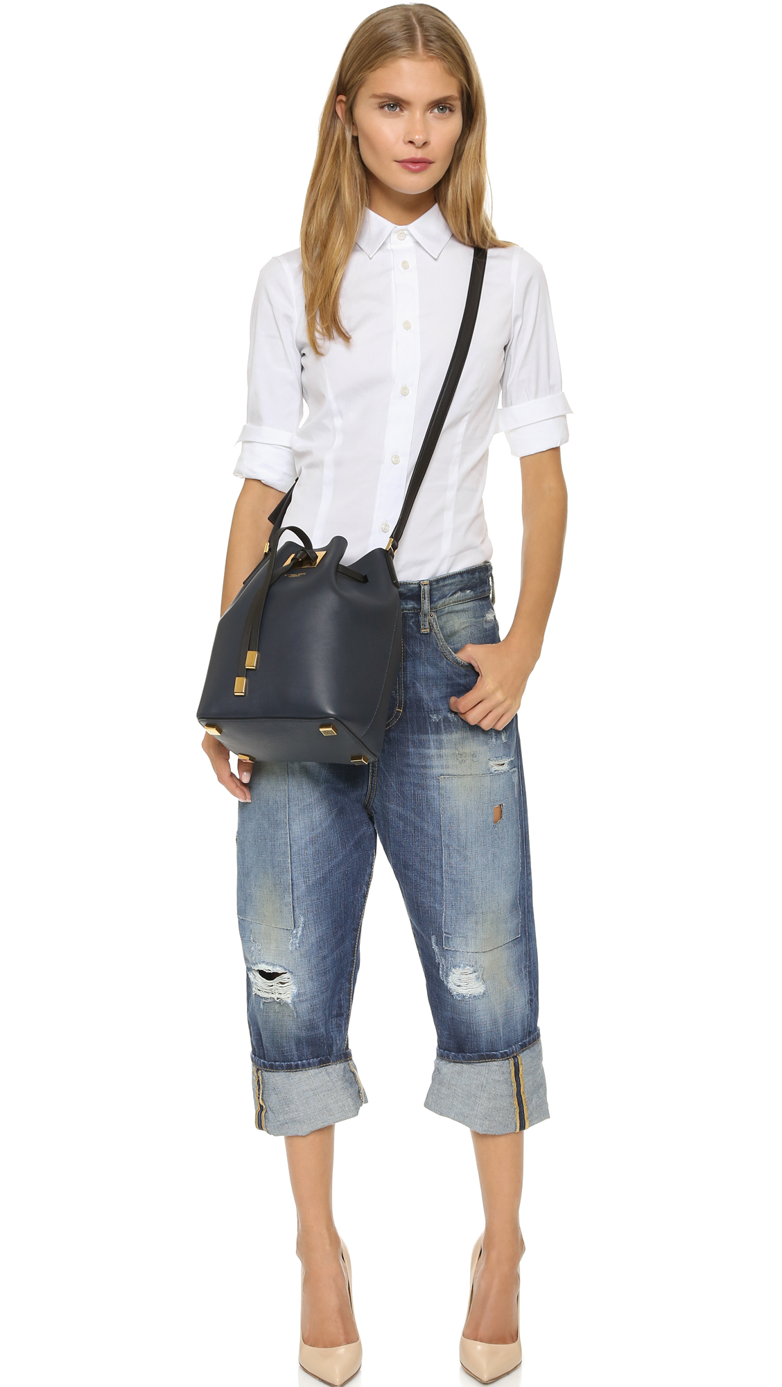 5ecc3b7732beed Michael Kors Collection Miranda Medium Drawstring Bag | SHOPBOP