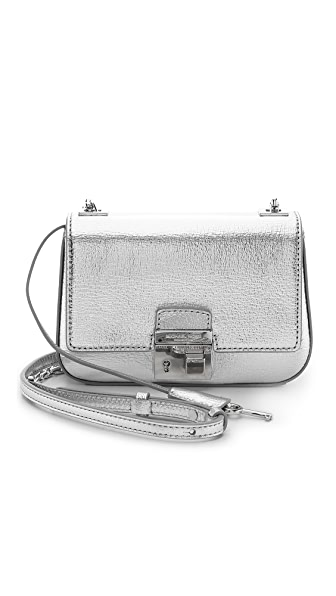 Michael Kors Collection Gia Small Chain Shoulder Flap