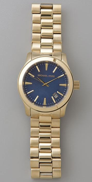 Michael Kors Men's Oversized Gold Watch
