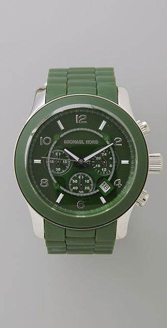 Michael Kors Men's Rubber Watch