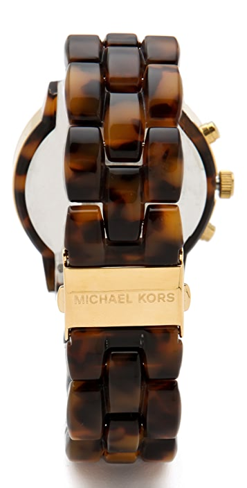 Michael Kors Tortoise Watch