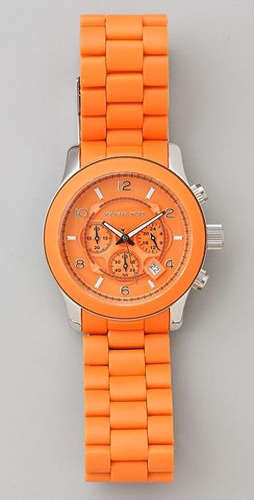 Michael Kors Orange Oversized Watch