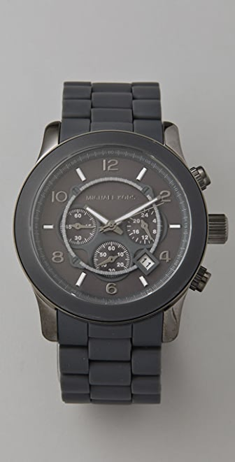 Michael Kors Round Oversized All Black Watch
