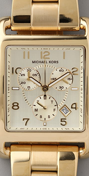 Michael Kors Chronograph Square Watch