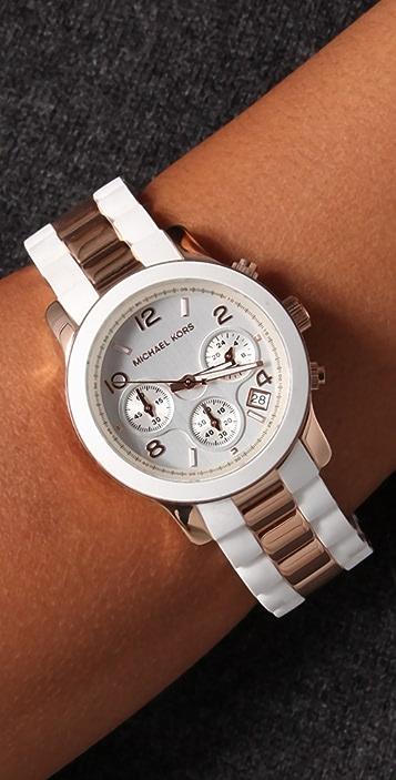 Michael Kors Runway Time Teller Watch